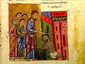 Gesù tocca e guarisce noi che siamo lebbrosi
