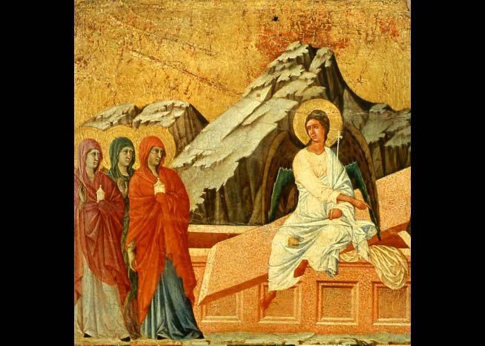 Prima alle donne discepole poi a Pietro