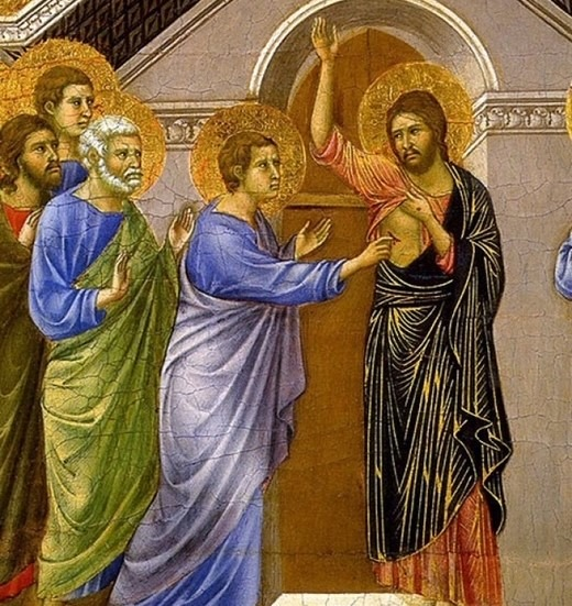 Il Risorto innanzitutto perdona e cancella i peccati